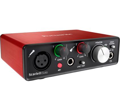 Focusrite Scarlett Solo 2nd Gen USB Main Image