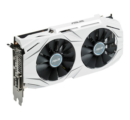 Asus GeForce Dual GTX 1060 O6G