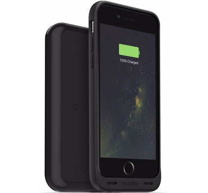 Mophie Juice Pack Wireless Apple iPhone 6/6s Zwart