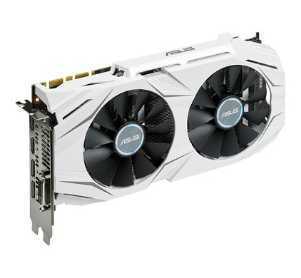 Asus GeForce Dual-GTX1070-O8G