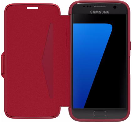 Otterbox Symmetry Etui Samsung Galaxy 7 Rood