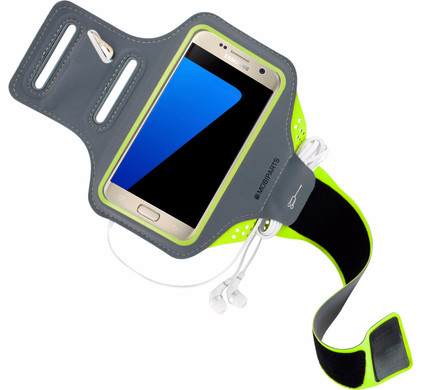 Mobiparts Comfort Fit Sportarmband Samsung Galaxy S7 Groen Main Image