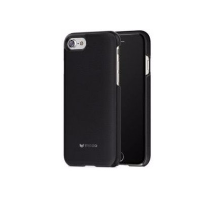 Mozo Back Cover Genuine Leather Apple iPhone 6/6s/7 Zwart