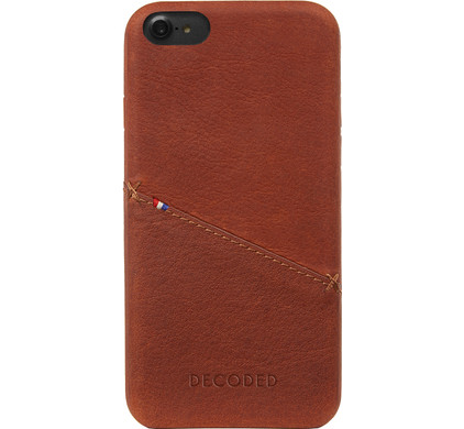 Decoded Leather Back Cover Apple iPhone 6/6s/7/8 Bruin