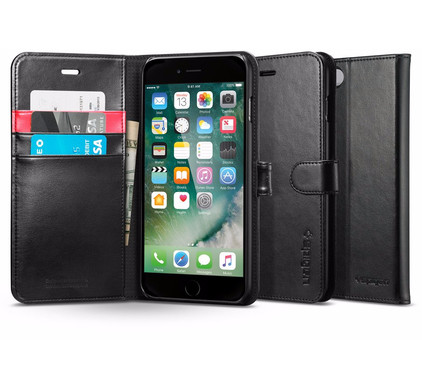Spigen Wallet S Apple iPhone 7/8 Zwart