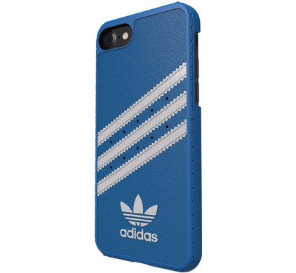 Adidas Originals Moulded case Apple iPhone 7/8 Blauw/Wit