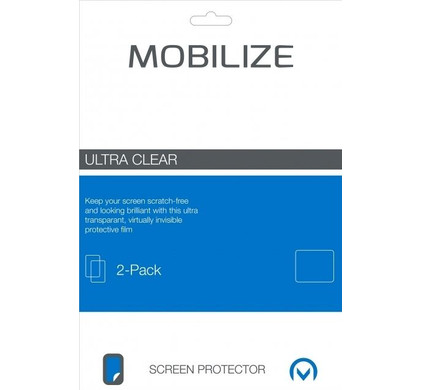 Mobilize Screenprotector Apple iPhone 7/8 Duo Pack