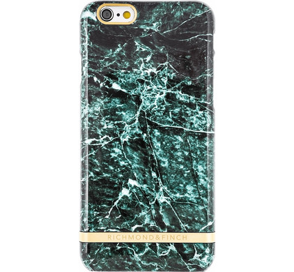 Richmond & Finch Marble Glossy Apple iPhone 7 Plus/8 Plus Groen