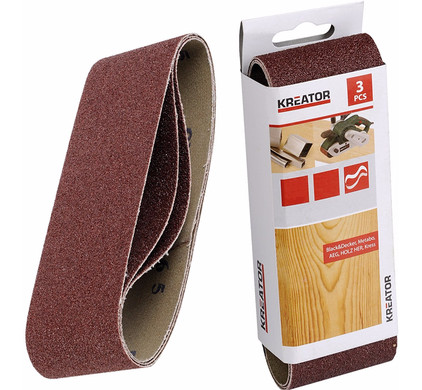 Kreator Schuurband 75x533 mm K60 (3x)