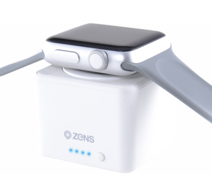 Zens Apple Watch Powerbank Wit