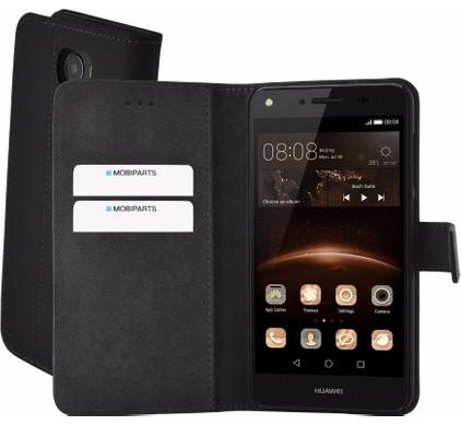 Mobiparts Premium Wallet Case Huawei Y5 II Zwart