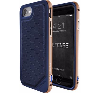 X-Doria Defense Lux Cover Apple iPhone 7/8 Blauw