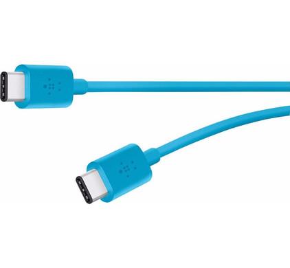 Belkin USB C naar USB C Kabel 1,8m Blauw