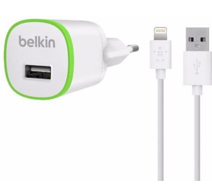 Belkin Lightning Thuislader 1A 1,2m Wit