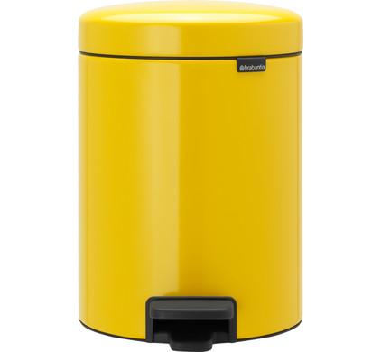 Brabantia NewIcon Pedaalemmer 5 Liter Geel