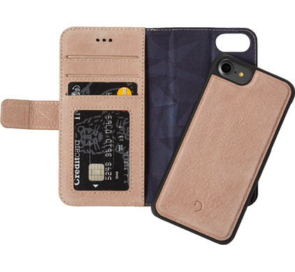 Decoded Leather 2-in-1 Wallet Case Apple iPhone 6/6s/7/8 Rose Gold