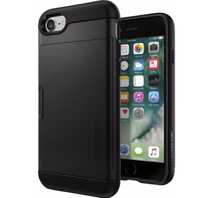 Spigen Slim Armor CS Apple iPhone 7/8 Zwart