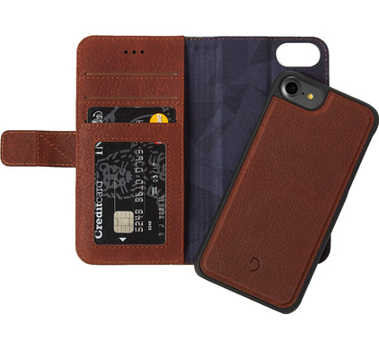 Decoded Leather 2-in-1 Wallet Case Apple iPhone 6/6s/7/8 Bruin
