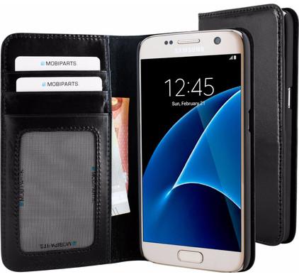 Mobiparts Excellent Wallet Case Samsung Galaxy S7 Zwart