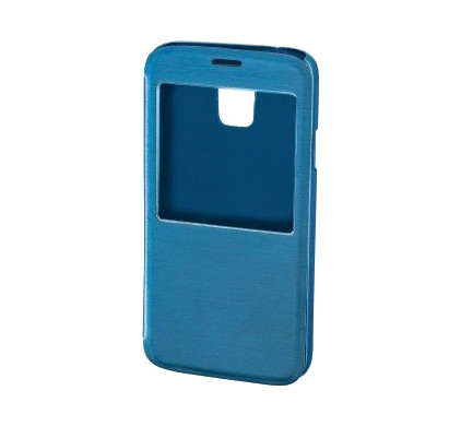 Hama Booklet Window Case Galaxy S5 Blauw