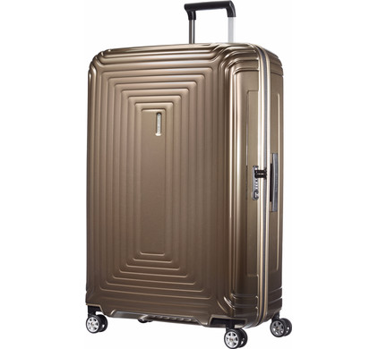 Samsonite Neopulse Spinner 81cm Metallic Sand
