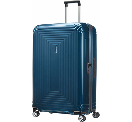 Grande valise rigide Samsonite Neopulse 81 cm Metallic Blue bleu