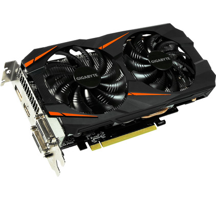 Gigabyte GeForce GTX 1060 Windforce OC 6G