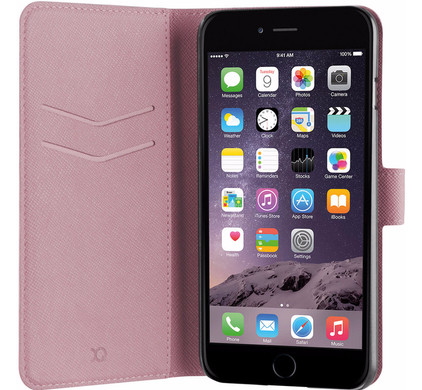 Xqisit Viskan Wallet Case Apple iPhone 7 Plus/8 Plus Roze