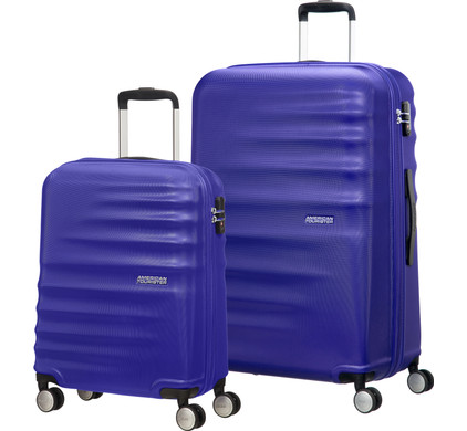 American Tourister WaveBreaker Set A 2 Stuks Nautical Blue