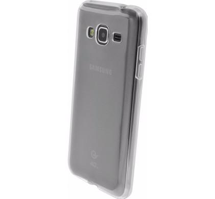 Mobiparts Essential TPU Case Samsung Galaxy J3 (2016) Transparant