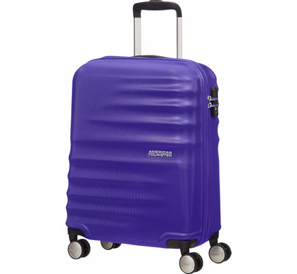American Tourister WaveBreaker Spinner 55cm Nautical Blue
