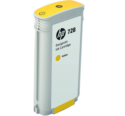 HP 728 Cartridge Geel XL (F9J65A)