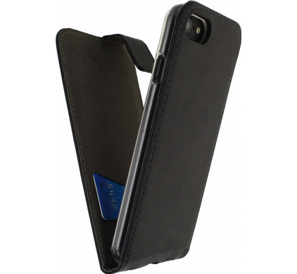 Mobilize Classic Gelly Flip Case Apple iPhone 7/8 Zwart