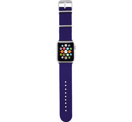 Trust Apple Watch 38mm Polsband Nylon Blue