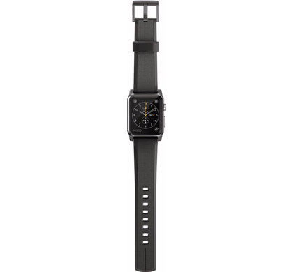 Nomad Apple Watch 42mm Siliconen Polsband Black