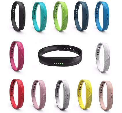 Just in Case Fitbit Flex 2 - 12 Silicone Watchbands