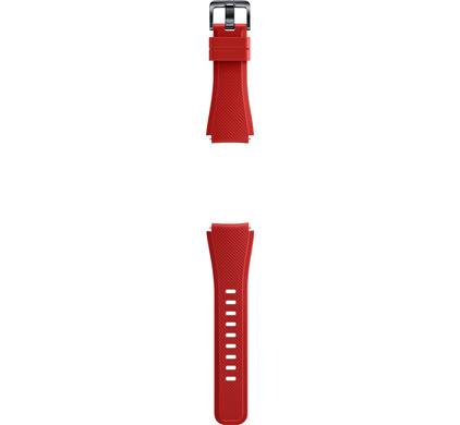 Samsung Gear S3 Silicon Band Orange Red