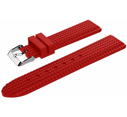 Just in Case Samsung Gear S3 Silicone Sport Watchband Red