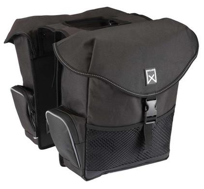 Willex Dubbele Bagagetas XL Zwart