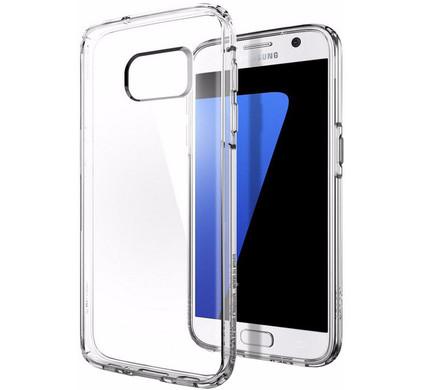 Spigen Ultra Hybrid Crystal Samsung Galaxy S7 Transparant
