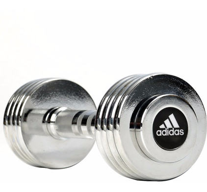 Adidas Chrome Dumbbell 1x 5,0 kg