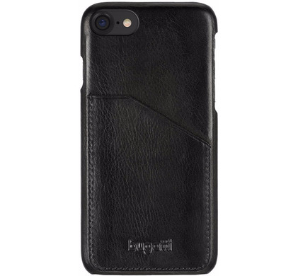 Bugatti Snap Case Londra Pocket Apple iPhone 7/8 Zwart