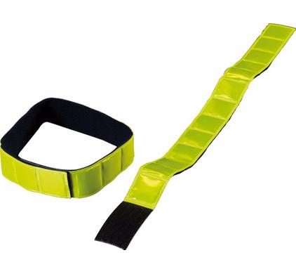 Wowow Reflectie Arm/Beenband Jogging Geel