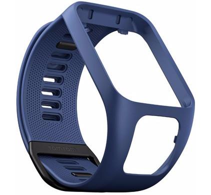 TomTom Spark 3/Runner 3 Horlogebandje Blauw - L