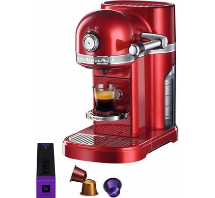 KitchenAid Nespresso 5KES0503 Rouge Pomme Main Image