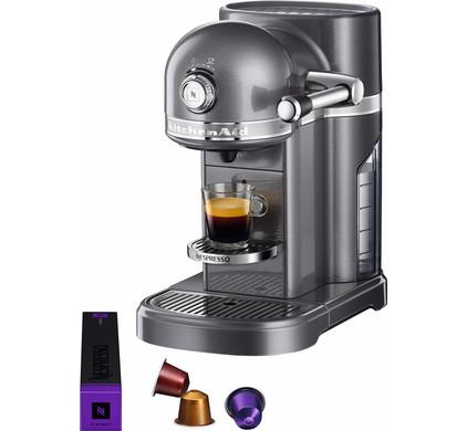 KitchenAid Nespresso 5KES0503 Tingrijs