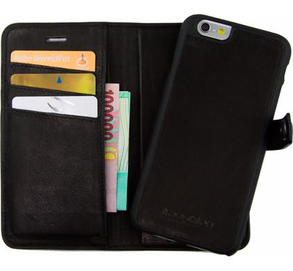 iMoshion Coba Apple iPhone 6/6s 2 in 1 Wallet Case Zwart