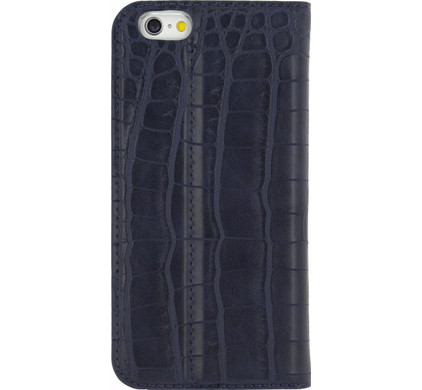 Mobilize Premium Gelly Alligator Apple iPhone 6/6s Book Case Blauw