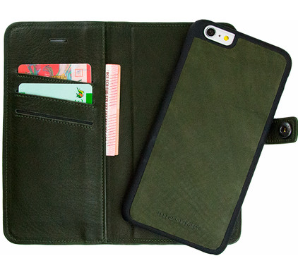 iMoshion Nubra Apple iPhone 6 Plus/6s Plus 2 in 1 Wallet Case Groen