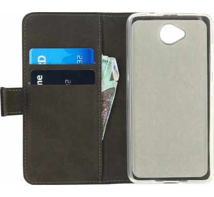 Mobilize Gelly Wallet Book Case Microsoft Lumia 650 Zwart
